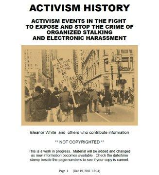 StopPsyWar com--History of TI Political Activism
